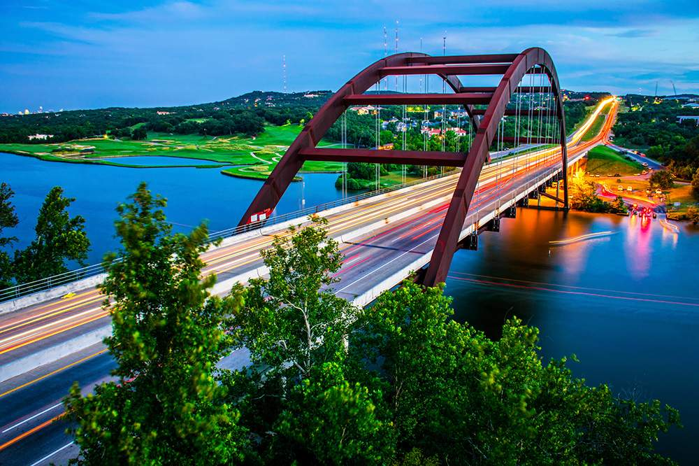 Austin Texas Pennybacker Bridge